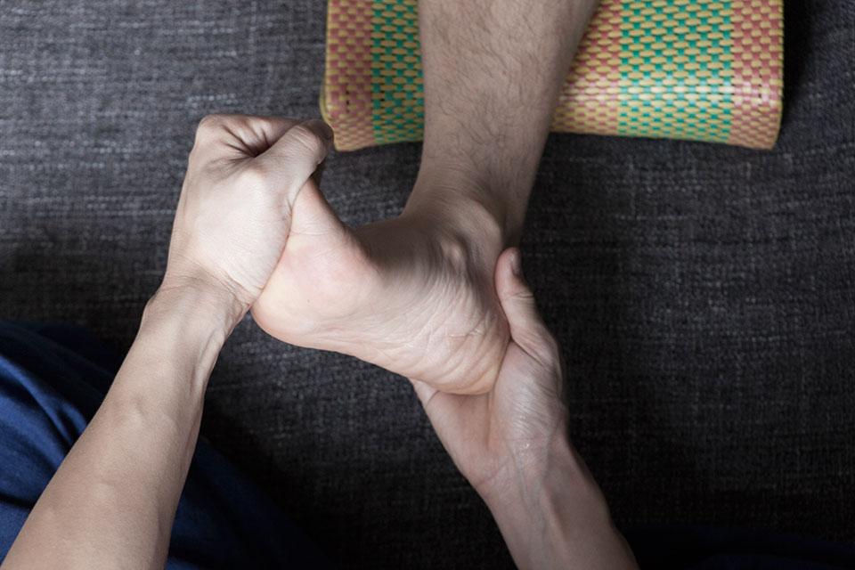 formation massage réflexologie plantaire