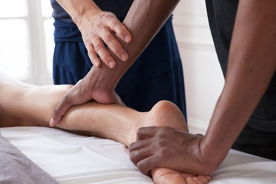 Formation massage thai à l'huile